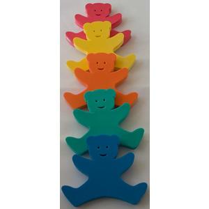Auftriebshilfe Schwimmhilfe Schwimmspaß Bär Bear 340x290x38mm Blau