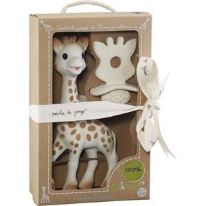 Sophie la girafe® + 1 Schnuller/Zahnungshilfe SO'PURE Geschenkset