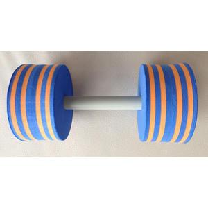 Wasser Hantel aus Schaumstoff 1 Stk. Scheibengröße 140x80mm starker...