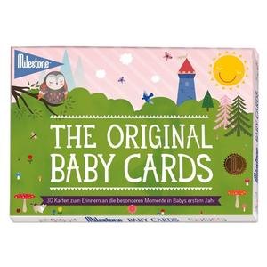 The Original Baby Cards von Milestone