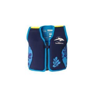Konfidence Jacket Schwimmweste navy/blue palm 18 Monate - 3 Jahre
