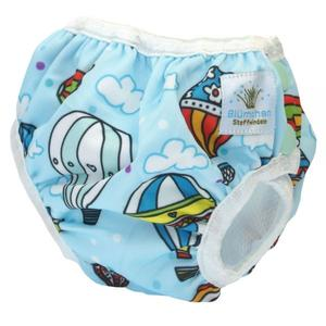 Blümchen Schwimmwindel Badewindel Ballon BabyBadehose M 5-10 kg