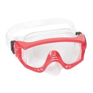 Tauchmaske Taucherbrille Jugendliche Grösse M ab 12 Jahre Rot