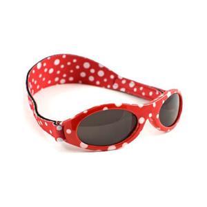 BabyBanz Babysonnenbrille 100% UV-Schutz 0-2Jahre Dot Red...