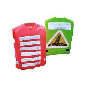 Firstbiker - Sicherheitsweste - Kinderwarnweste Pink