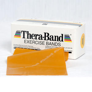 Thera-Band® 5,5m GOLD Maximal Schwer Gymnastikband THERABAND (5,25 € pro 1 m)