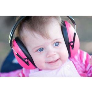 BabyBanz Kindergehörschutz/Ohrenschützer Ohrenschutz Gehörschutz pink