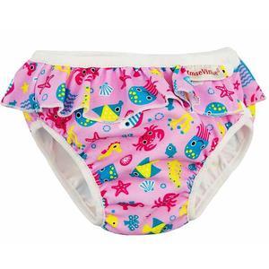 Imse Vimse Schwimmwindel, Badewindel, Aquawindel, Babybadehose Pink...