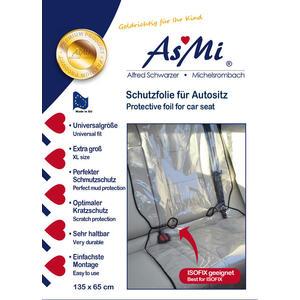 ASMi® Schutzfolie für Autositz isofixgeeignet