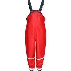 Playshoes Regenlatzhose für Kinder 116 Rot