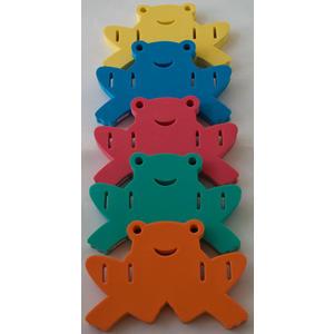 Auftriebshilfe Schwimmhilfe Schwimmspass Frosch 390x300x38mm Grün