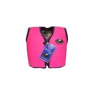 Konfidence Jacket Schwimmweste pink/gelb 6 - 7 Jahre