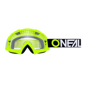 O`Neal B-10 Goggle TWOFACE Cross MTB Brille neon Gelb - clear ONeal