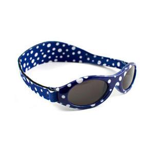 KidzBanz Kindersonnenbrille 100% UV-Schutz 2-5Jahre Dot Blue...