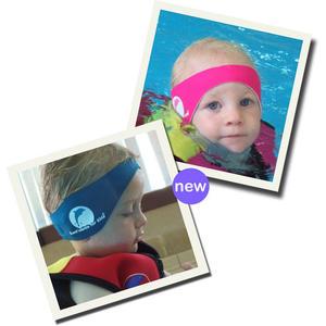 Konfidence Neopren Stirnband - Aquabands TM in blau Kind