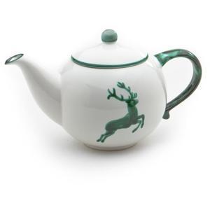 Grüner Hirsch, Teekanne glatt 0,5L