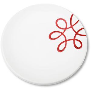 Pur Geflammt Rot, Dessertteller Cup (Ø 20cm)
