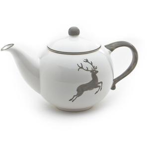 Grauer Hirsch, Teekanne glatt 0,5L