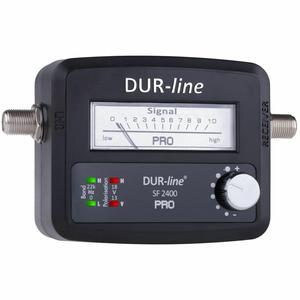 DUR-line SF 2400 Pro - Satfinder mit Zeigermessgerät und beleuchteter Anzeige