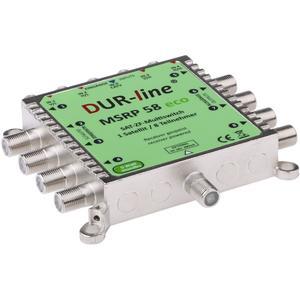 DUR-line MSRP 5/8 eco - Multischalter für 8 Teilnehmer - Geringe Stromaufnahme - 0 Watt Standby Multiswitch [Digital, HDTV, FullHD, 4K, UHD]