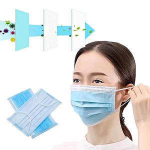 50x Mundschutz Maske 3 lagig Atemschutzmaske Mund Atem Schutzmaske Vliesstoff Mikrofiltration Einweg