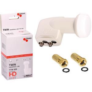 Triax Universal Twin LNB TTW 006