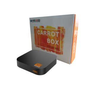 Carrot Box 4K   Set-Top-Box   Mediaplayer Smart TV, ORF Mediathek, ARD,ZDF,3Sat uvm.