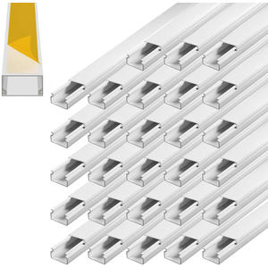 ARLI Kabelkanal selbstklebend 15 x 10 mm 28 m