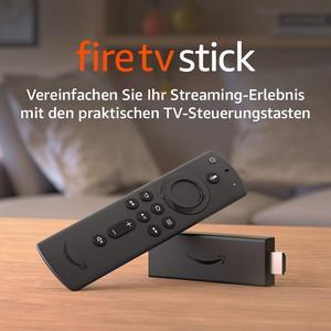 Der neue Fire?TV?Stick mit Alexa-Sprachfernbedienung (mit TV-Steuerungstasten)   HD-Streaminggerät   2020