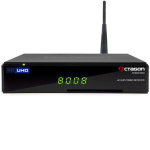 OCTAGON SF8008 MINI 4K UHD E2 2160p H.265 E2 Linux Wifi DVB-S2X & T2C Combo Receiver
