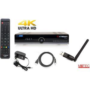 OCTAGON SF8008 4K UHD E2 DVB-S2X Single M@tec WLAN WiFi Open ATV Vorinstalliert