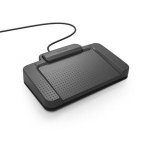 Philips USB Fußschalter (3 Tasten, Philips-Belegung)