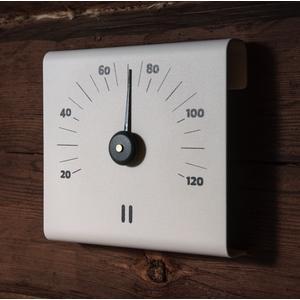 Sauna-Thermometer weiß von Rento