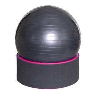 4in1 Ball-Step, Trainingsball inkl Trainingsvideo, Therapie- und Sport