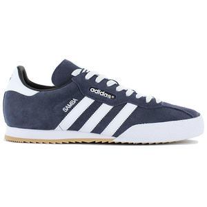 adidas Originals Samba Super Suede - Herren Schuhe Navy-Blau 019332