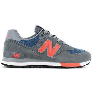 New Balance Classics 574 - Herren Schuhe Grau-Orange ML574NFO