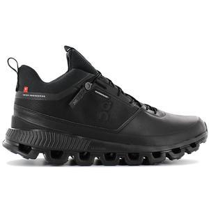 ON Running Cloud Hi Waterproof - Herren Outdoor Schuhe Schwarz 28.99674