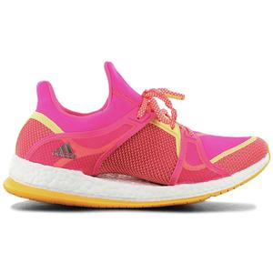 adidas pure Boost X TR - Damen Laufschuhe Pink AQ1972