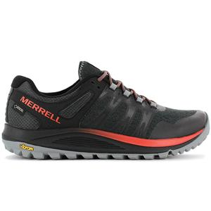 MERRELL Nova GTX - Gore-Tex - Herren Wanderschuhe Trail-Running Schuhe Schwarz J48821