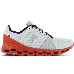 ON Running Cloudstratus - Herren Laufschuhe Grau Orange 29.99565