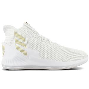 adidas Derrick D Rose 9 Boost - Herren Basketballschuhe Weiß AC7439