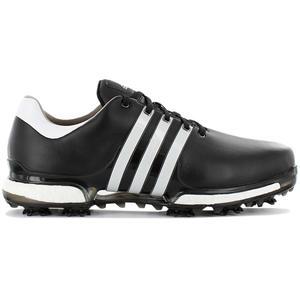 adidas Golf Tour 360 Boost 2.0 - Herren Golfschuhe Leder Schwarz Q44936