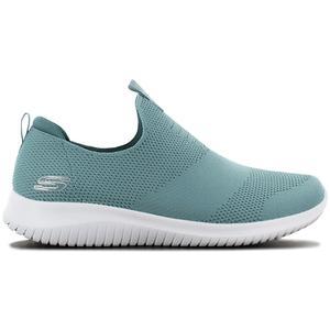 Skechers Ultra Flex First Take - Damen Schuhe Grün 12837-SAGE