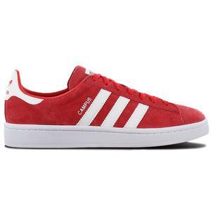 adidas Originals Campus W - Damen Schuhe Leder Rot DB1018