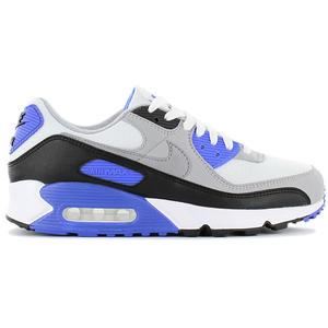 Nike Air Max 90 - Herren Schuhe Weiß-Grau-Blau CD0881-102
