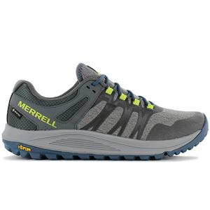 MERRELL Nova GTX - Gore-Tex - Herren Wanderschuhe Trail-Running Schuhe Grau J066513