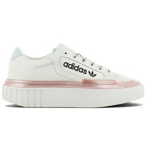 adidas Originals HYPERSLEEK W - Damen Plateu Schuhe Weiß FV4084
