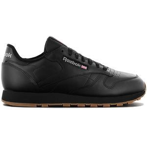 Reebok Classic Leather - Herren Schuhe Schwarz-Gum 49800