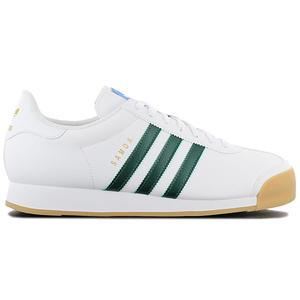 adidas Originals Samoa - Herren Schuhe Weiß Grün EG6089