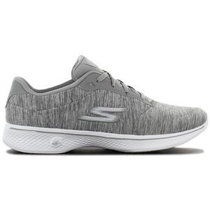 Skechers GOwalk 4 Serenity - Damen Schuhe Grau 14173-GRY